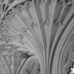 Palace Of Westminster Linen Fold Column Detail - Architecural Photography