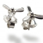 Propeller Earings - Jewellery Photography - East Anglia