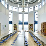 Lakenham School Dining Hall - Architectural Photography